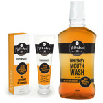 Whiskey Flavored Toothpaste & Mouthwash