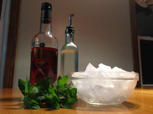 Mint Julep Ingredients
