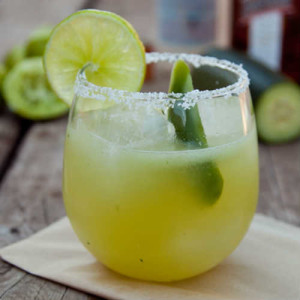The Jalapeno Tequila Smash Cocktail