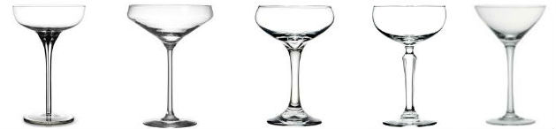 What is a Coupe Glass?