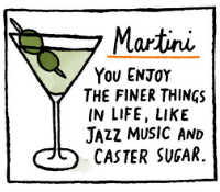 What a Martini Says About You