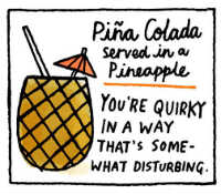 What a Pina Colada Says About You