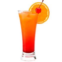 Tequila sunrise cocktail  Valentine's Day Cocktails: My Favorites | The Cocktail Novice