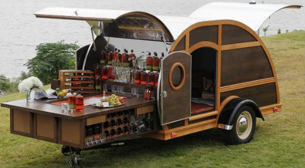 The Bulleit Bourbon Woody Camper